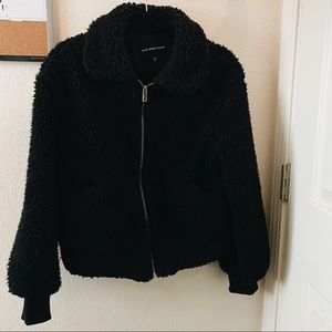 Sherpa teddy jacket from who what wear